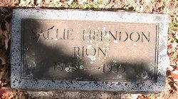 Sallie <i>Herndon</i> Rion