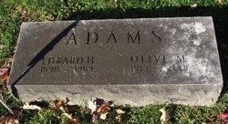 Edward H Adams
