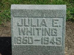 Julia E <i>Whiting</i> Pullen