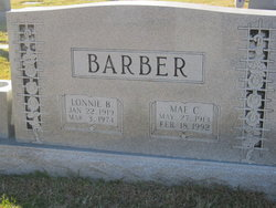 Mae Naomi <i>Chaffin</i> Barber