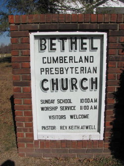 Bethel Cumberland Presbyterian Church Cemetery