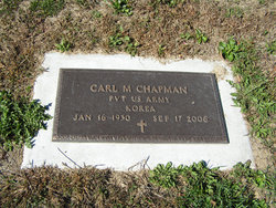 Pvt Carl M Chapman