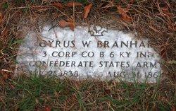 Corp Cyrus Wayne Branham