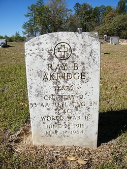 Ray B Akridge