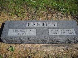 Lucille Ann <i>Blue</i> Babbitt