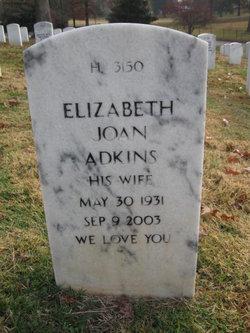 Elizabeth Joan <i>Payne</i> Adkins