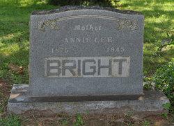 Annie Lee <i>Ray</i> Bright