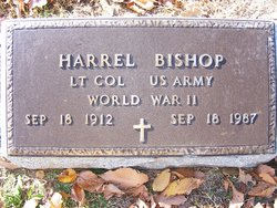 Dr Harrel Bishop