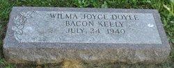 Mrs Wilma Joyce <i>Doyle</i> Keely