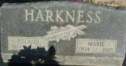 Marie <i>Lang</i> Harkness