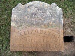 Elizabeth <i>Scott</i> Allison