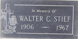 Walter C Stief