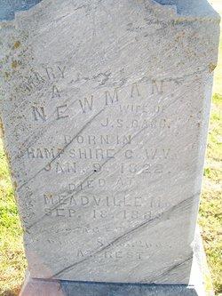 Mary A. <i>Newman</i> Babb