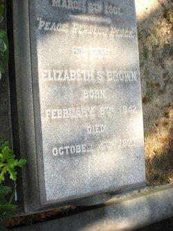 Elizabeth Singleton <i>Smith</i> Brown