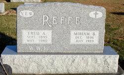 Fred A Reffe