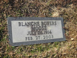 Blanche <i>Bowers</i> Moose