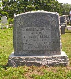 Cordelia <i>Brown</i> Bedle