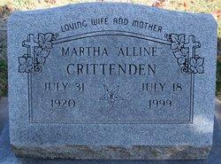 Martha Alline Crittenden
