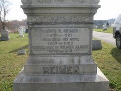Minnie <i>Reimer</i> Albert