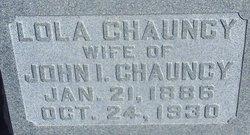 Lola Frances <i>Childers</i> Chauncy