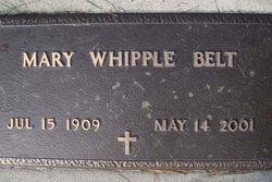 Mary Whipple Belt