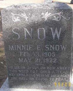 Minnie E. Snow