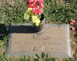 Inez <i>Burleson</i> Baker