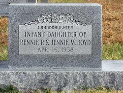 Infant Daughter Boyd