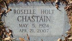 Flora Roselle <i>Holt</i> Chastain