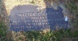 Walter E. Baxter