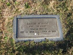Earlie Webster Beck