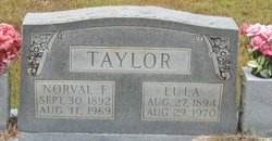 Norval Frank Taylor