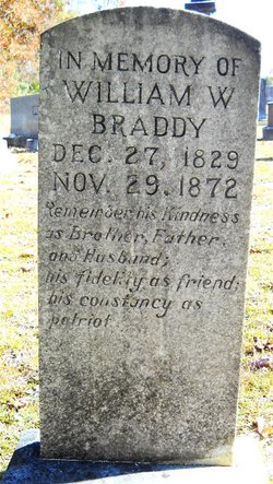 William Wightman Braddy