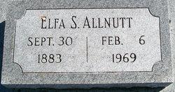 Elpha <i>Ellis</i> Allnutt