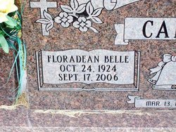 Floradean Belle <i>Ferguson</i> Capps