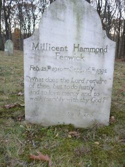 Millicent Hammond Fenwick