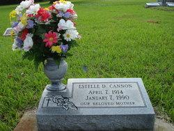 Mary Estelle 'Ted' <i>DuBard</i> Cannon