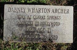 Dabney Wharton Archer