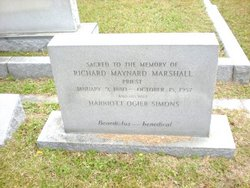 Rev Richard Maynard Marshall