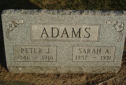 Sarah Amelia <i>Evans</i> Adams