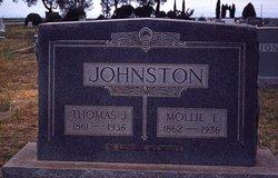 Mary Elizabeth Mollie <i>Lemmond</i> Johnston