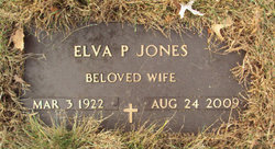Elva P. <i>Peasley</i> Jones