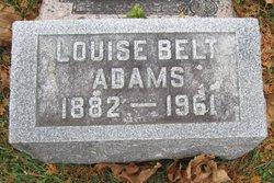 Louise <i>Belt</i> Adams