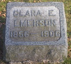 Clara Emma <i>Magee</i> Emerson