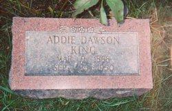 Addie <i>King</i> Dawson