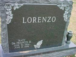 Dr Francis D. Slats Lorenzo