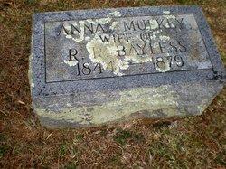 Anna Eliza <i>Mulkey</i> Bayless