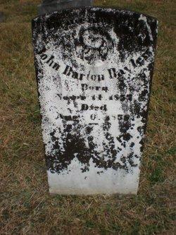 John Barton Bayless