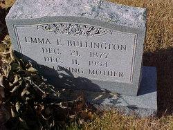 Emma E. <i>Baxter</i> Bullington
