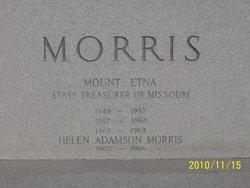 Mount Etna M.E. Morris